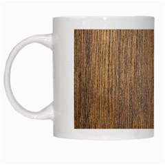 Walnut White Mugs