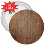 WALNUT 3  Buttons (10 pack)  Front