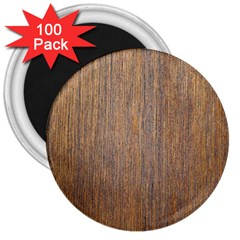Walnut 3  Magnets (100 Pack)