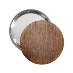Walnut 2 25  Handbag Mirrors
