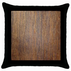 Walnut Throw Pillow Cases (black)