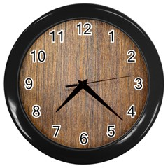 Walnut Wall Clocks (black)