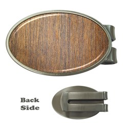 Walnut Money Clips (oval)