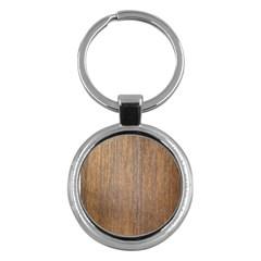 Walnut Key Chains (round)