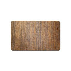 Walnut Magnet (name Card)