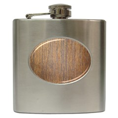Walnut Hip Flask (6 Oz)