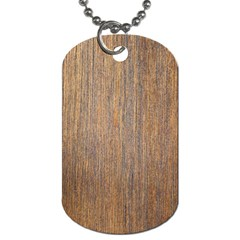 Walnut Dog Tag (two Sides)