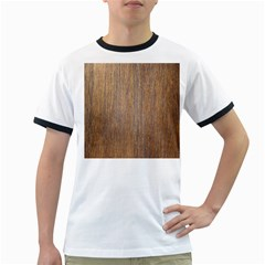 Walnut Ringer T Shirts