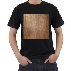 Walnut Men s T Shirt (black) (two Sided)