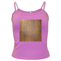 Walnut Dark Spaghetti Tanks