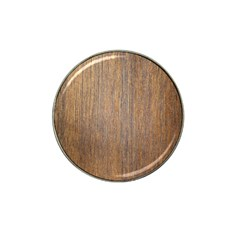Walnut Hat Clip Ball Marker (4 Pack)
