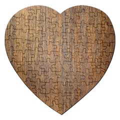 Walnut Jigsaw Puzzle (heart)