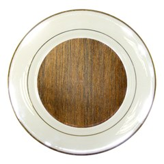 Walnut Porcelain Plates