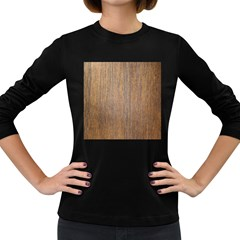 Walnut Women s Long Sleeve Dark T Shirts