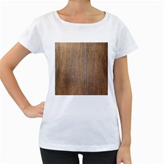 Walnut Women s Loose Fit T Shirt (white)