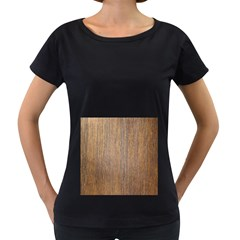 Walnut Women s Loose Fit T Shirt (black)