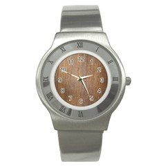 Walnut Stainless Steel Watches