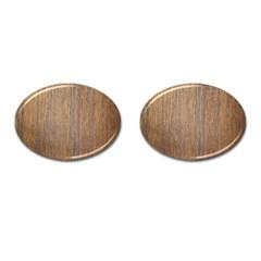 Walnut Cufflinks (oval)