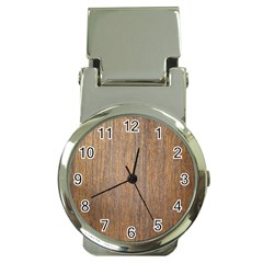 Walnut Money Clip Watches