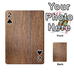 Walnut Playing Cards 54 Designs