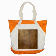 Walnut Accent Tote Bag