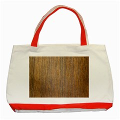 Walnut Classic Tote Bag (red)