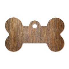 Walnut Dog Tag Bone (two Sides)
