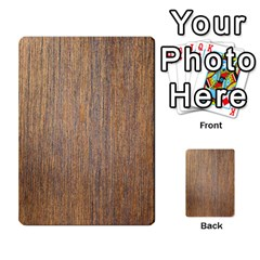 Walnut Multi Purpose Cards (rectangle)