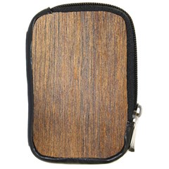 Walnut Compact Camera Cases