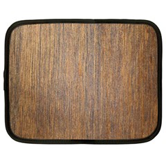 Walnut Netbook Case (xl)
