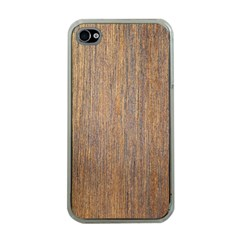 WALNUT Apple iPhone 4 Case (Clear)