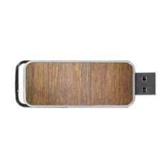 Walnut Portable Usb Flash (one Side)