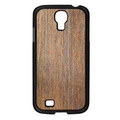 WALNUT Samsung Galaxy S4 I9500/ I9505 Case (Black)