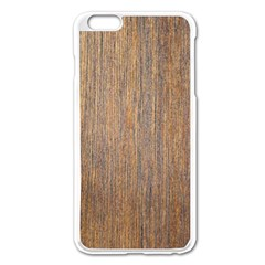 WALNUT Apple iPhone 6 Plus/6S Plus Enamel White Case