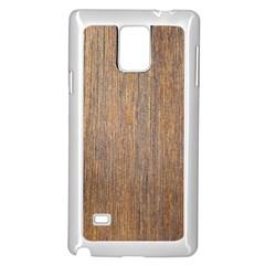 Walnut Samsung Galaxy Note 4 Case (white)