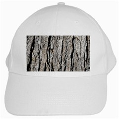 Tree Bark White Cap
