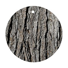 Tree Bark Ornament (round)