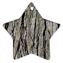 Tree Bark Ornament (star)