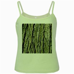 Tree Bark Green Spaghetti Tanks
