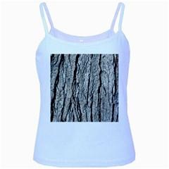 TREE BARK Baby Blue Spaghetti Tanks