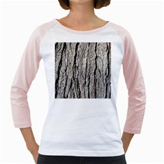 Tree Bark Girly Raglans