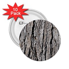Tree Bark 2 25  Buttons (10 Pack)