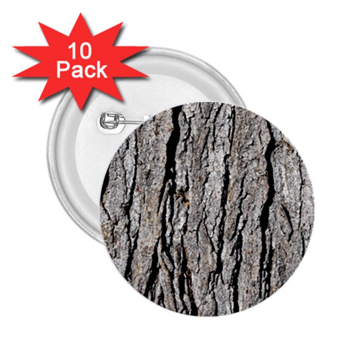 TREE BARK 2.25  Buttons (10 pack)