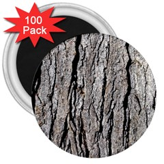 Tree Bark 3  Magnets (100 Pack)