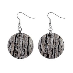 Tree Bark Mini Button Earrings