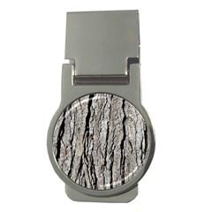 Tree Bark Money Clips (round)