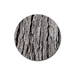 TREE BARK Rubber Round Coaster (4 pack)  Front