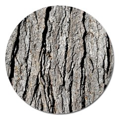 TREE BARK Magnet 5  (Round)