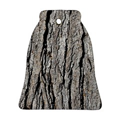 TREE BARK Bell Ornament (2 Sides)