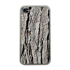 TREE BARK Apple iPhone 4 Case (Clear)